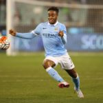 Football - AS Roma v Manchester City - International Champions Cup Pre Season Friendly Tournament - MCG, Melbourne, Australia - 21/7/15 Manchester City's Raheem Sterling in action Action Images via Reuters / Jason O'Brien Livepic