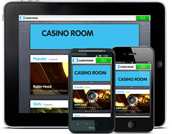 Casino room mobil